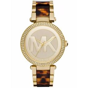 Relogio Michael Kors Logo Dourado Marca: Michael Kors Modelo