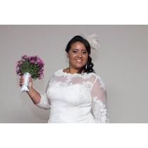 Vestido De Noiva Midi Para Gordinha Noemi
