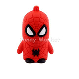 Usb 8gb Hombre Araña Spiderman Acces. Llavero 8 Gb 25 Soles