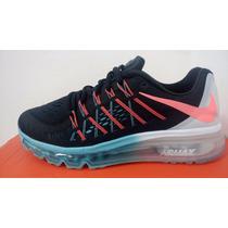Tenis Nike Air Max 2015 24.5 Cm - 4.5 Mx 100% Nuevos