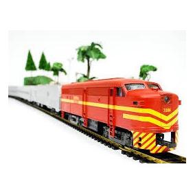 Trem De Passageiros Rffsa - 6505 - Frateschi - Conj Completo