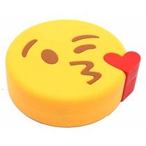 Mayoreo 5 Pzas Power Bank Beso Emoticon 3000 Mah Batería