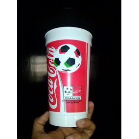 Vaso Coca Cola Del Mundial De Italia 1990, Souvenir Oficial.