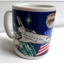 Caneca Nasa Spaceport Usa Importada Ricardo