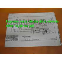 Esquema Radio Vitrola Delta Eletrola 8900 15,00 Em Pdf