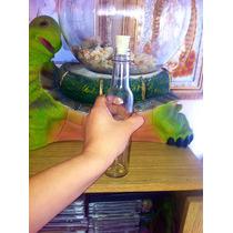 Botellas De Vidrio Con Corcho Incluido.