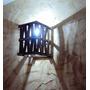 Arandela Luminária De Parede Rustico Iluminação Interior