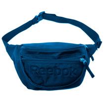 Riñonera Reebok Waistbag Compartimientos Con Cierre