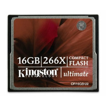 Tarjeta Memoria Kingston Cf Profesional 16gb 266x Mac Pc
