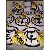 Cubrelecho Cama Doble Real Madrid
