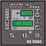 Controle Eletrônico Para Compressor Chicago Pneumatic Es3000