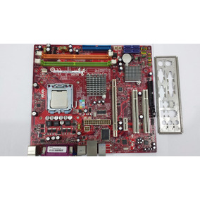 Placa Mãe Msi Ms-7267 Ddr2 775 Ver 4.2 + Pentium 4 3000mhz