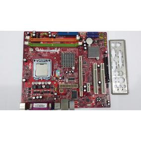 Placa Mãe Msi Ms-7267 / Ddr2 / 775/ Ver 4.5 + Celeron 420
