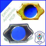 Par De Atributos Pin Distintivo Seguridad Policia Bonaerense