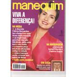 Revista Manequim Nº 403 - Jul 1993 - Capa Fátima Bernardes