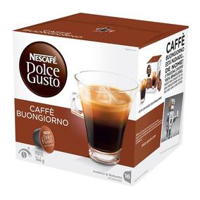 Dolce Gusto Café Buongiorno 144g C/ 16 Cápsulas - Nescafé