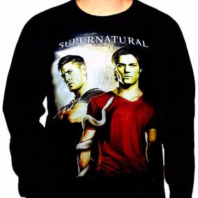 Camiseta Manga Longa Supernatural Ref=347