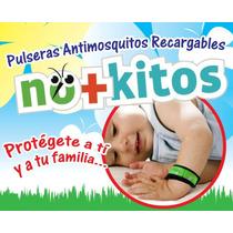 Pulsera Repelente Mosquitos 100% Natural 2 Pastillas Antimos