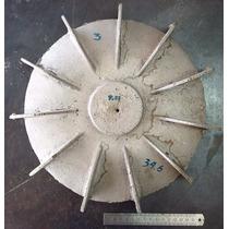Abanico De Aluminio Para Motor Eléctrico Grande