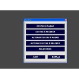 Planilha Excel Para Controle De Contas: À Pagar/receber