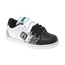 Tênis Skate Infantil Graphite Branco E Preto - Pimpolho