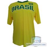 Camiseta Brasil Amarela Kappa Seleções Copa 2014