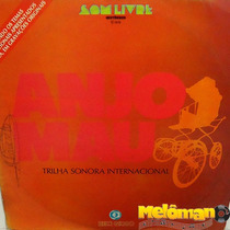 Anjo Mau 1976 Trilha Sonora Da Novela - Internacional Lp