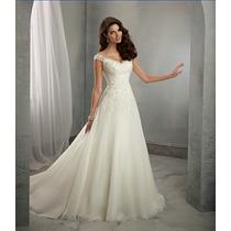 Vestido De Noiva Civil Igreja Casamento Sob Confecção