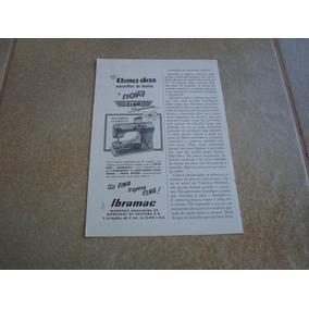 Propaganda Antiga Maquinas De Costura Elna 1955 Elgin