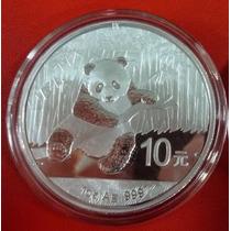 China Moneda De Plata Proof Oso Panda 10 Yuan 2015