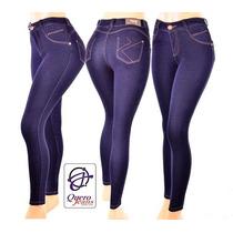 Calça Quero-jeans 0063 Super Stretch Tom Escuro Sem Manchas