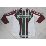 ab3f4ab699 Camisa adidas Fluminense 2005 06 Tamanho P Manga Longa Nº 10