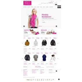 Site Para Loja De Confecções Roupas - Loja Magento Loja43448