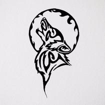 Adesivo Decorativo Lobo Quarto Sala