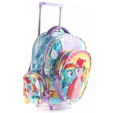 Mochila Con Carro My Little Pony Licencia Original 12