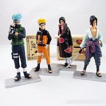 Kit Com Kakashi Naruto Itachi Sasuke - Envio Imediato