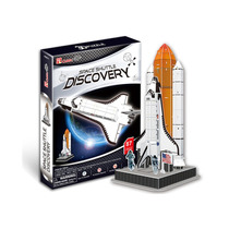 Quebra-cabeça 3d Puzzle Ônibus Espacial Discovery Cubic Fun