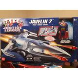 Javelin 7 Superman Justice League Mattel Nunca Abierto