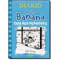 Diário De Um Banana - V6 ( Casa Dos Horrores ) Capa Dura