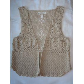 Aeropostale-chaleco Crochet-s/m-recien Llegado De Usa!!!!