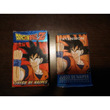 Cartas Mazo Naipes Dragon Ball Z Pro Smart Lote 179 Año 1999