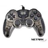 Gamepad Joystick Pc Netmak Usb 2.0 Juegos Vibra Turbo