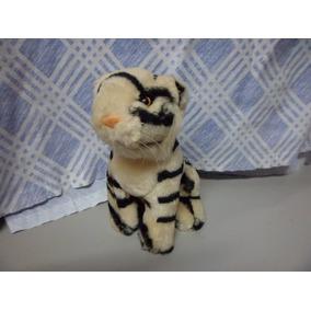 Tigre De Pelucia Usado 17 Cm De Altura
