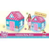 Barraca Toca Casa Casinha Barraquinha Infantil Baby Alive