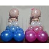 Globos Metalizados Baby Shower ,cupcakes Torta Y Ponque