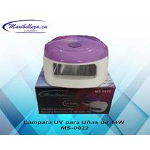 Lampara Uv Para Uñas De 14 Watts