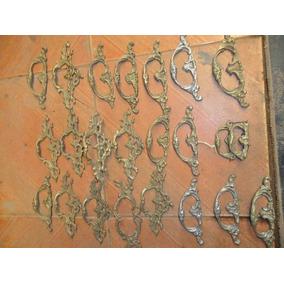 Pujadores De Muebles En Bronze Antiguos Y Golpeadores Puerta
