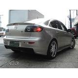 Spoiler - Aleron Mazda 3 - Nuevo - Fibra De Vidrio