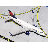 Miniatura Delta Connection Embraer Erj-170 1:400 Gemini Jets