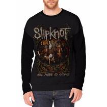 Blusa Moletom Slipknot Camisetas Bandas Rock Metal Caveira